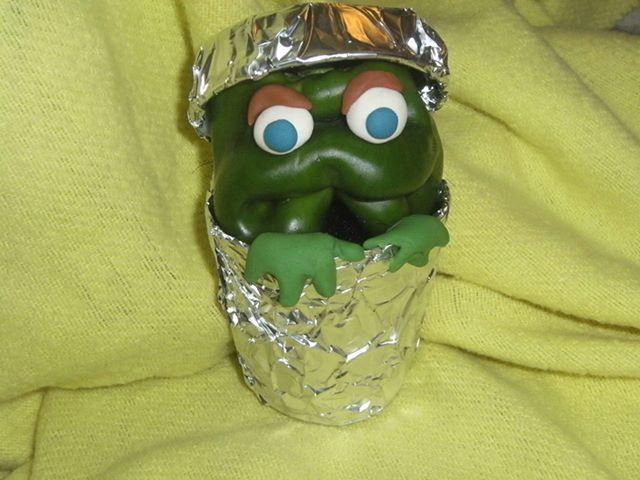 8.30.13 Pepper Oscar the Grouch