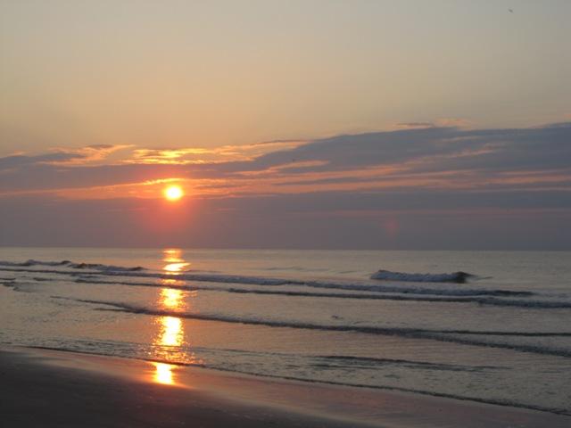 Beach surfwatch sunrise 2012