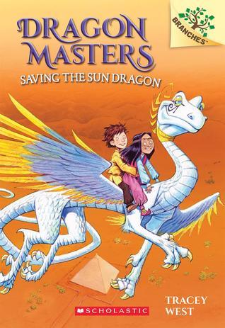Cover Dragon Master saving the sun dragon