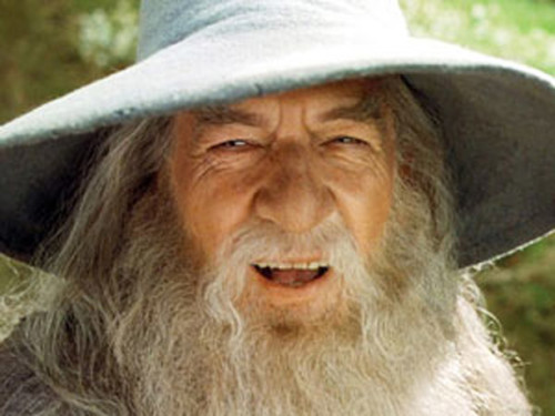 Gandalf coming to shire