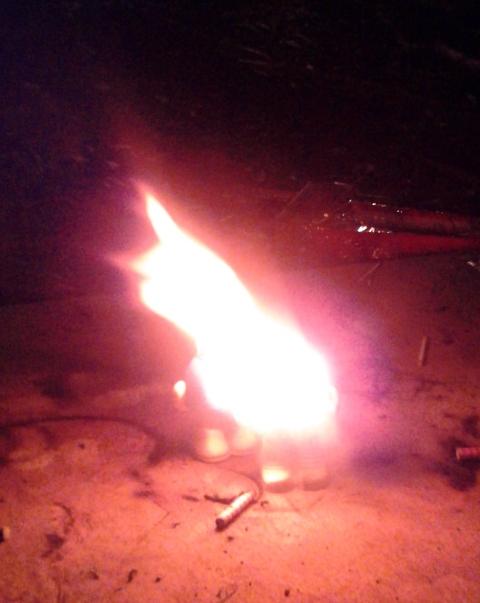 M&M firework