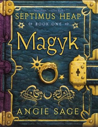 Septimus Heap bk 1 cover
