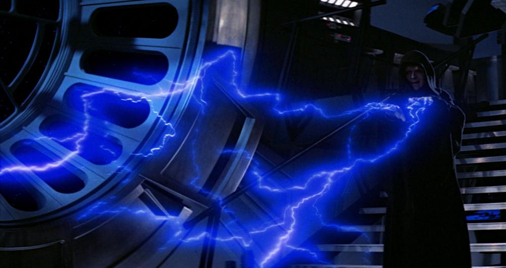Star Wars Tween Post Force Lightning