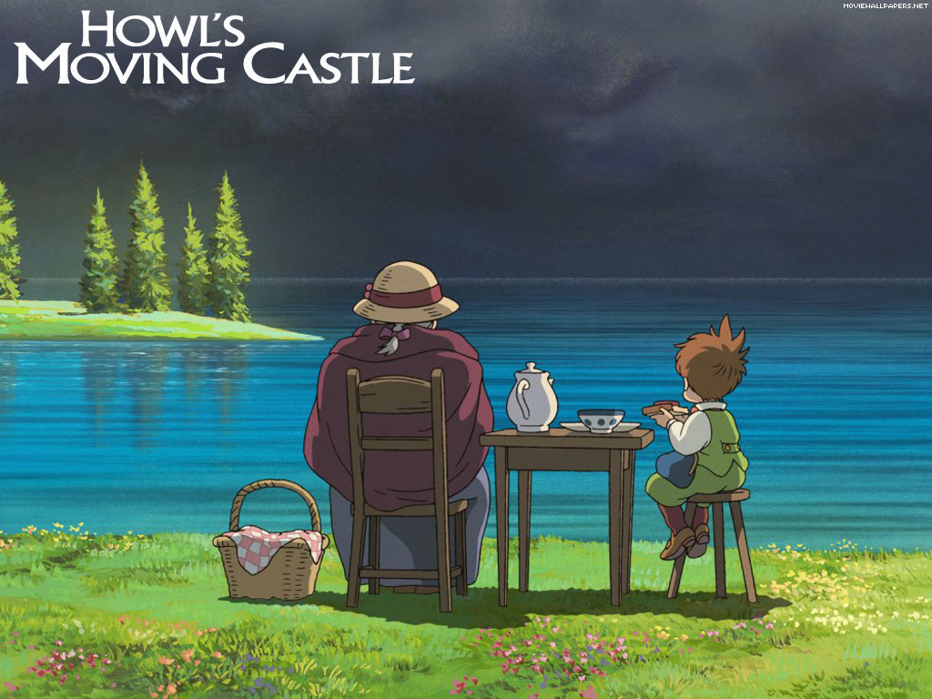 howls-moving-castle-peace by the lake